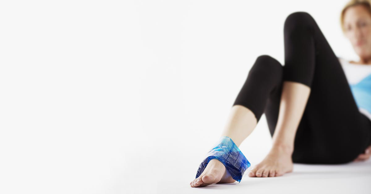 Bay Shore natural ankle sprain treatment